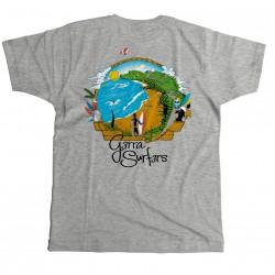 Camisetas G3rra Surf3rs Estándar Hombres