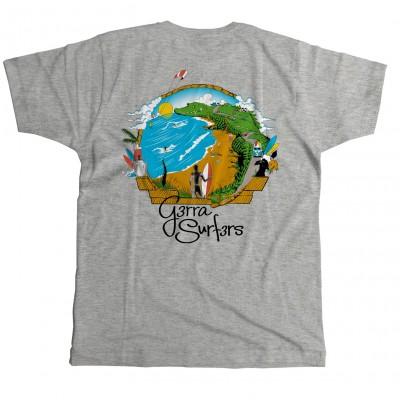 Camiseta G3rra Surf3rs Estándar Hombre