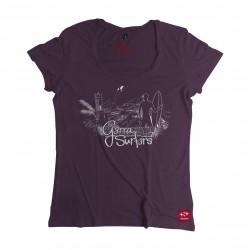 Camisetas Mujer G3rra Surf3rs  Estándar